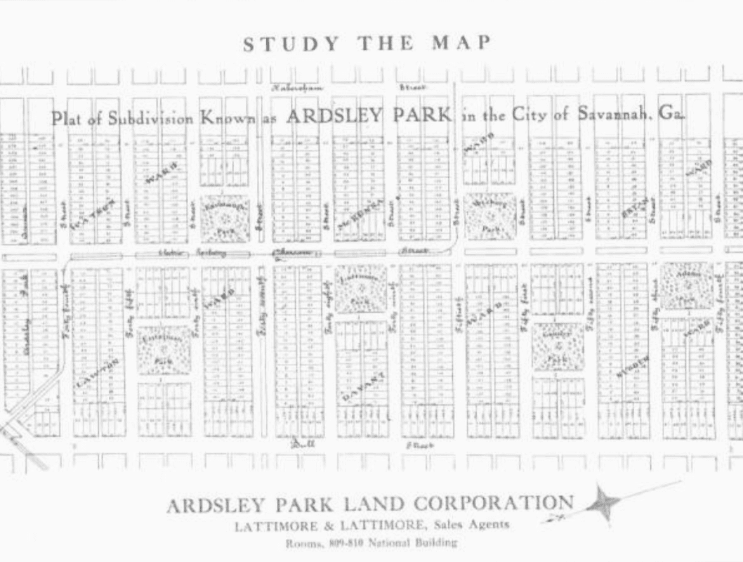 History ardsley park chatham crescent neighborhood association the ardsley park land corporation was born from the mind of harry hays lattimore and william lattimore 1910 to serve as savannahs first automobile suburb malvernweather Choice Image